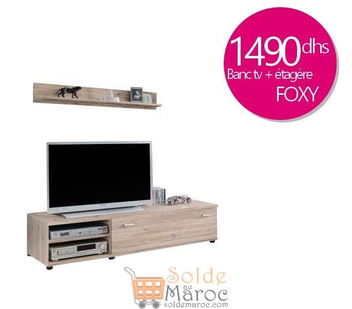 Promo Azura Home Meuble TV FOX 150 cm 1490Dhs au lieu de 1990Dhs