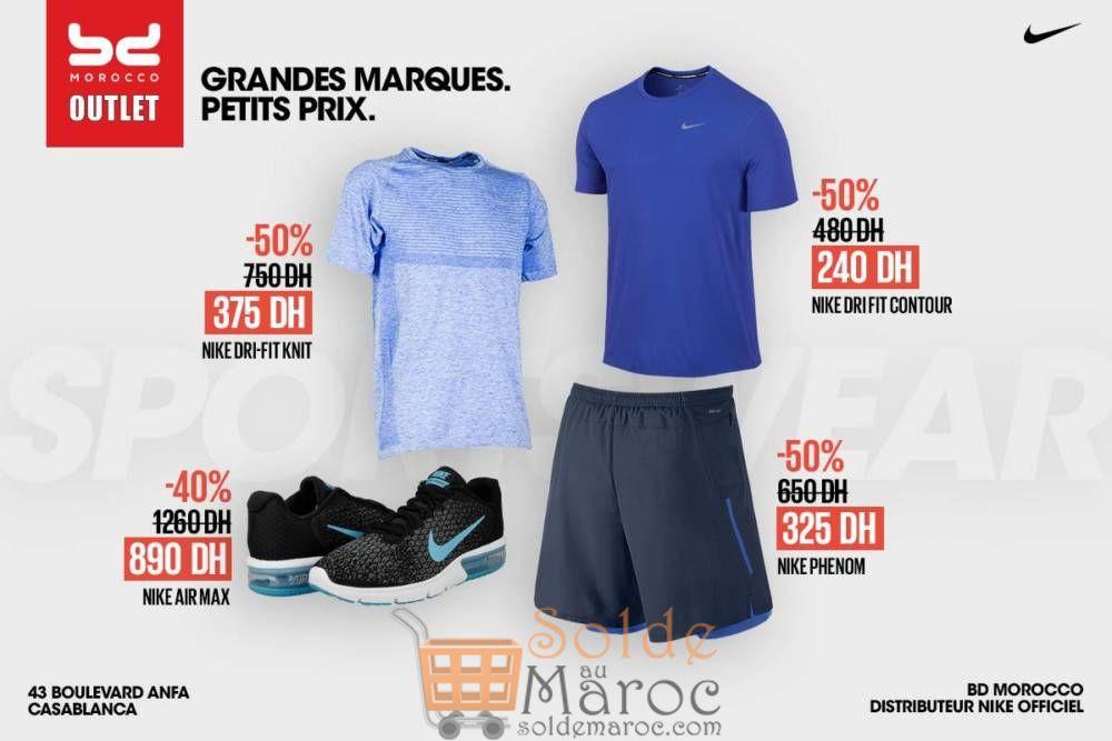 Promo BD Morocco Outlet Articles originaux de Nike réduits jusqu'à 50%