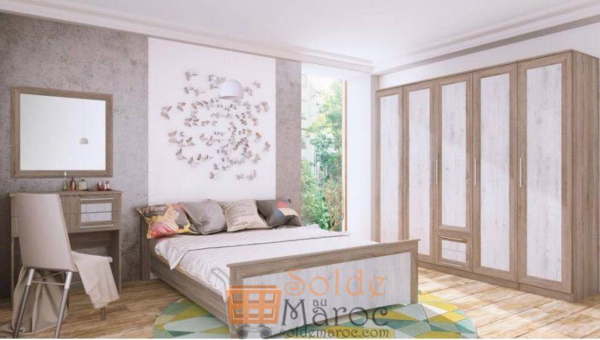 Promo Azura Home Chambre complète LAURA 3990Dhs au lieu de 10490Dhs
