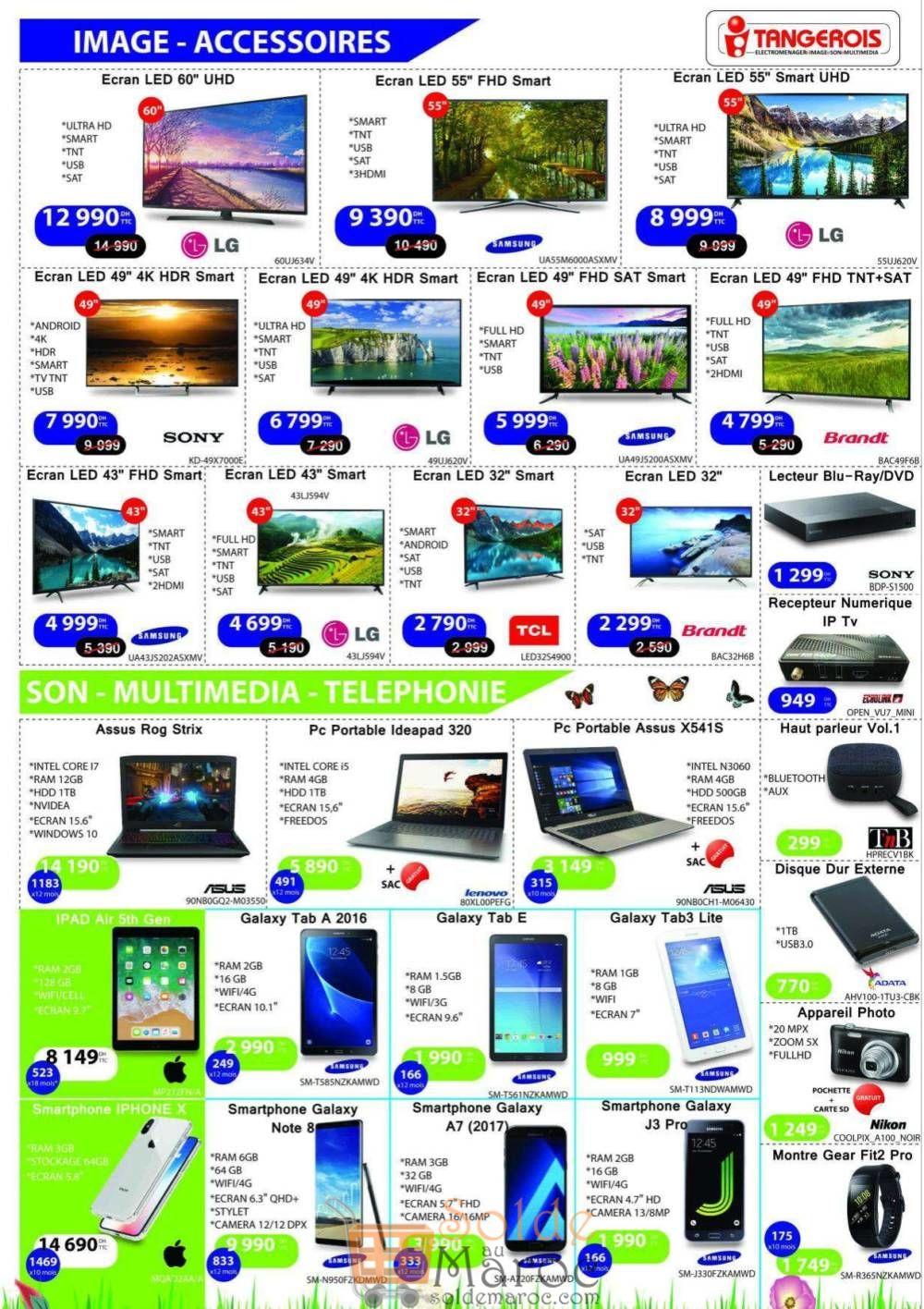 Catalogue Tangerois Electro Jusqu'au 22 Avril 2018