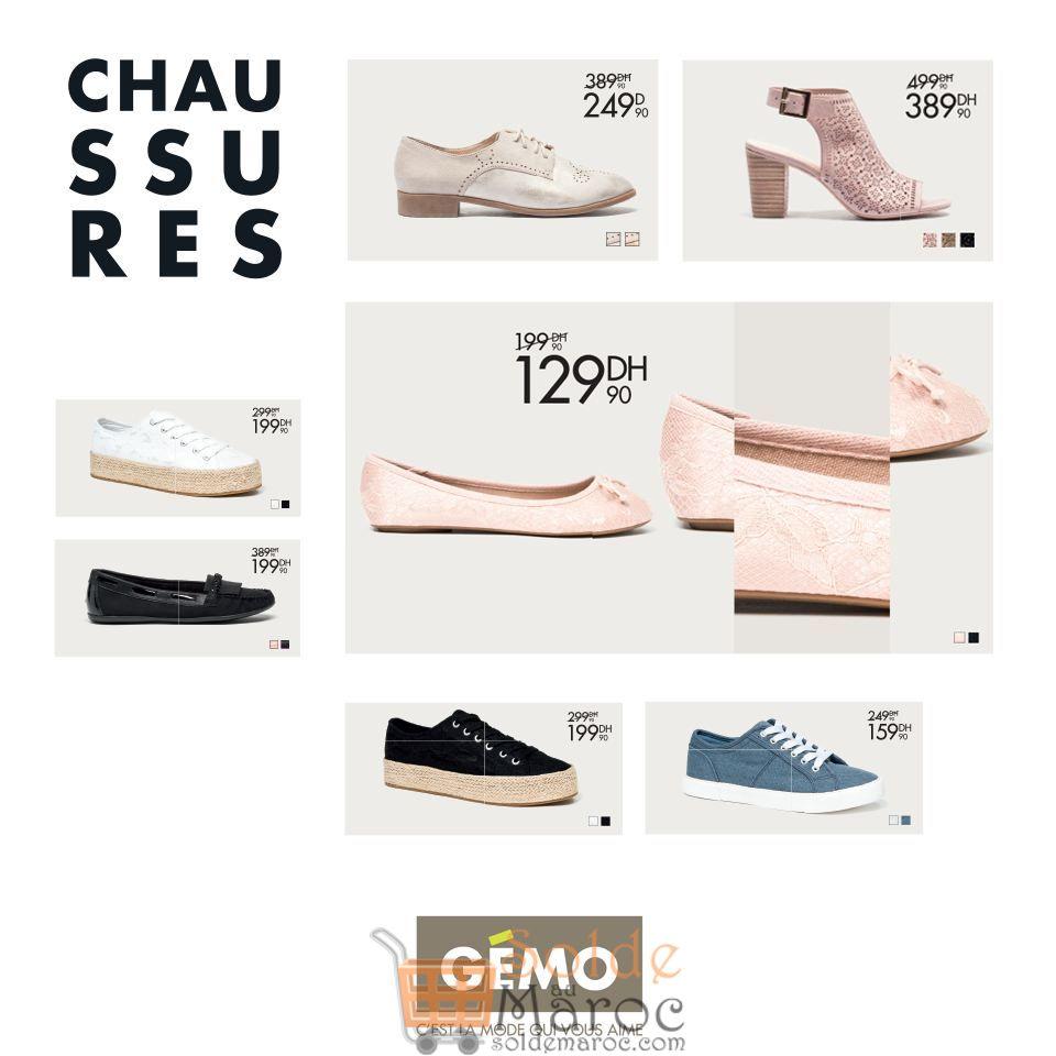 Promo Nouvelle Collection Chaussures Printemps Gémo Maroc