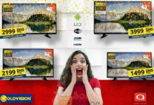 Promo Abroun Electro Smart TV Goldvision