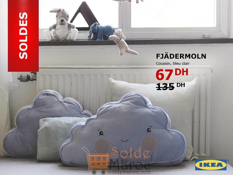 Soldes Ikea Maroc Coussin FJÄDERMOLN 67Dhs au lieu de 135Dhs