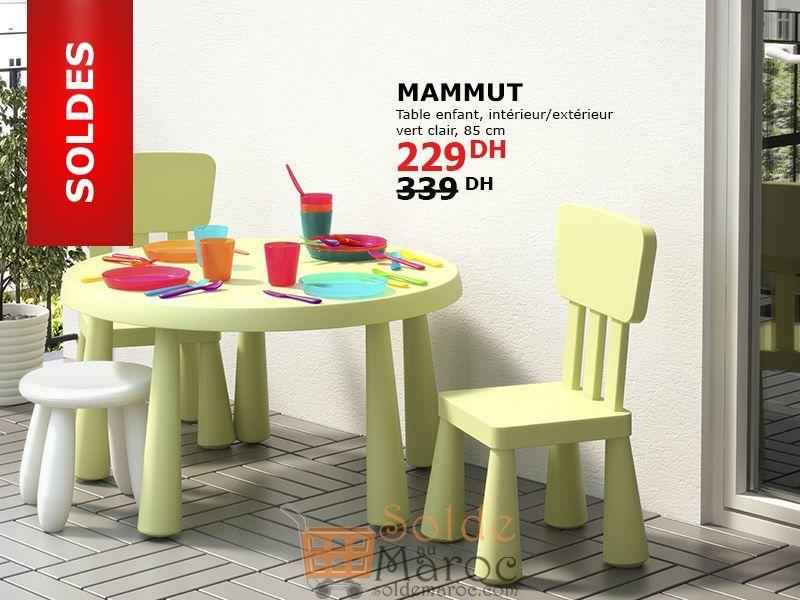 soldes ikea maroc table enfant mammut vert clair 229dhs les soldes et promotions du maroc. Black Bedroom Furniture Sets. Home Design Ideas