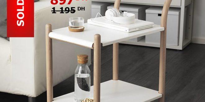 soldes ikea maroc desserte roulante h tre blanc 897dhs les soldes et promotions du maroc. Black Bedroom Furniture Sets. Home Design Ideas