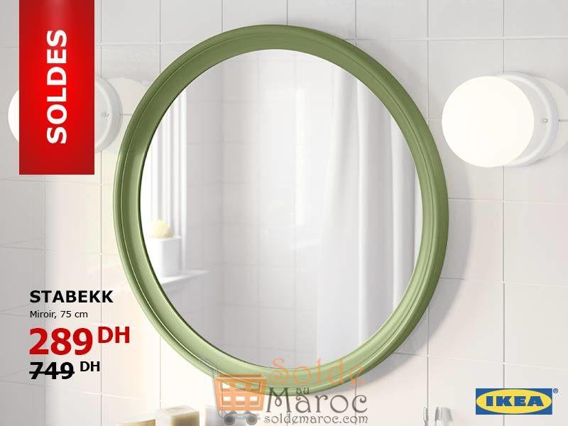 Soldes Ikea Maroc Miroir STABEKK 75cm 289Dhs au lieu de 749Dhs