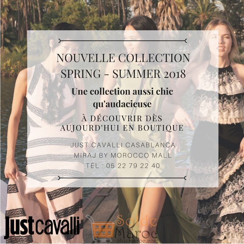 JUST Cavalli Nouvelle Collection Spring Summer 2018