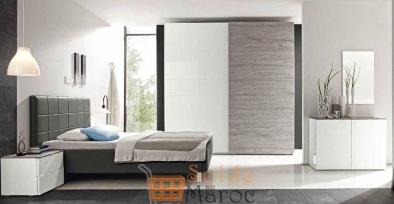 Promo Azura Home Lit BRESCIA 160cm 2990Dhs au lieu de 5403Dhs