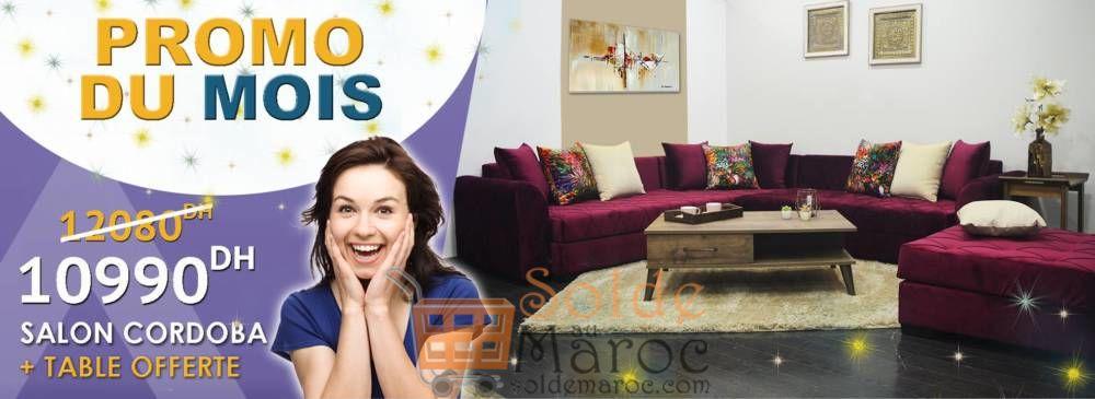 Promo du mois mobilia salon cordoba table 10990dhs for Mobilia 2018 maroc