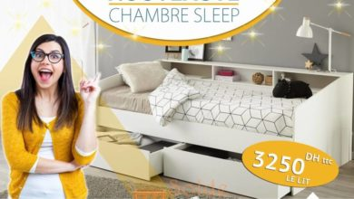 Photo of Offre Spéciale Mobilia Chambre Sleep