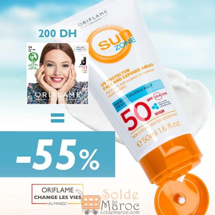 Meilleure offre du Mois chez Oriflame Maroc -55%