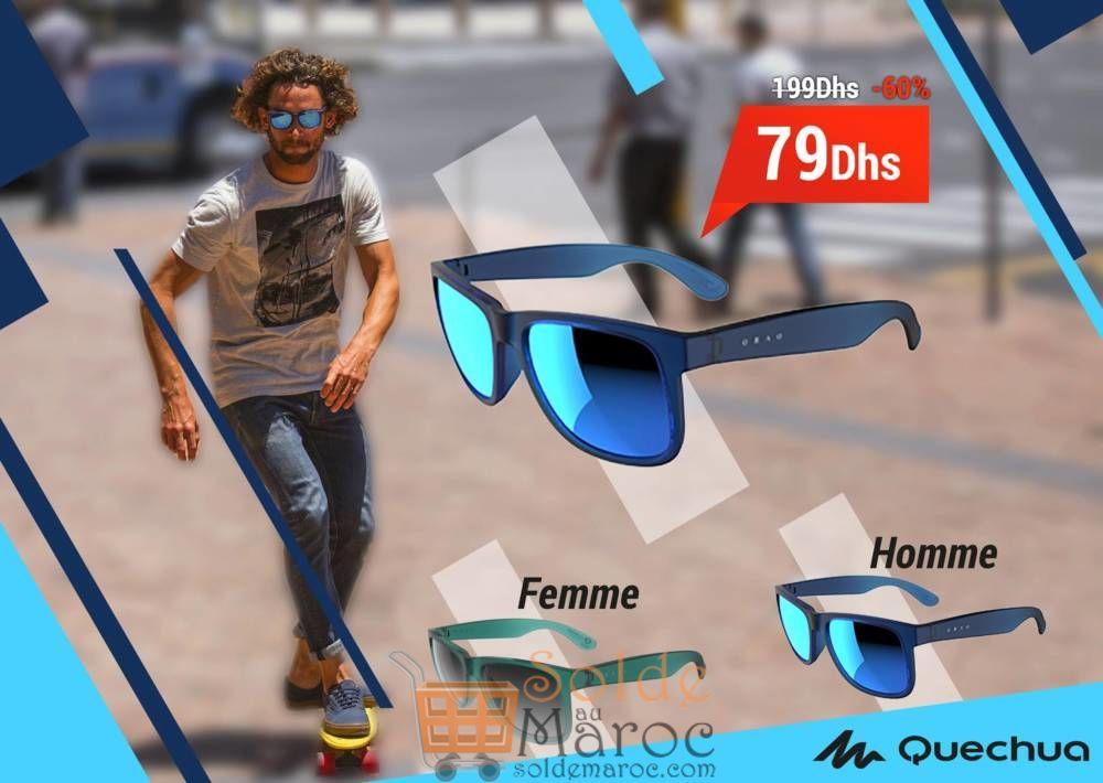 Promo Decathlon Maroc Lunette de Sport Quechua 79Dhs au lieu de 199Dhs