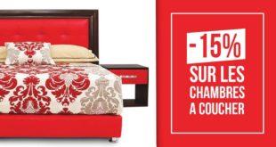 Promo Richbond -15% Chambre à coucher 2 Places