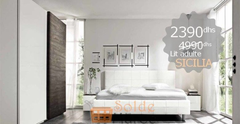 Photo of Promo Azura Home Lit SICILIA 160cm 2390Dhs au lieu de 4490Dhs