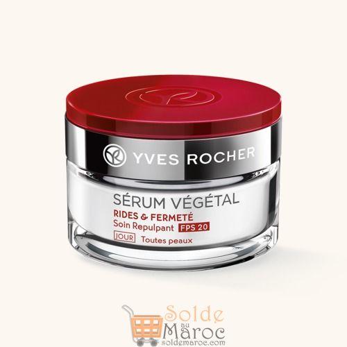 Promo Yves Rocher Soin Repulpant SPF20 Jour RIDES & FERMETE 149Dhs au lieu de 249Dhs