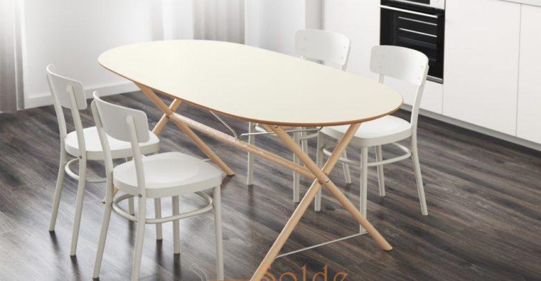 Soldes Ikea Maroc Table Bouleau blanc SLÄHULT 2629Dhs au lieu de 2995Dhs