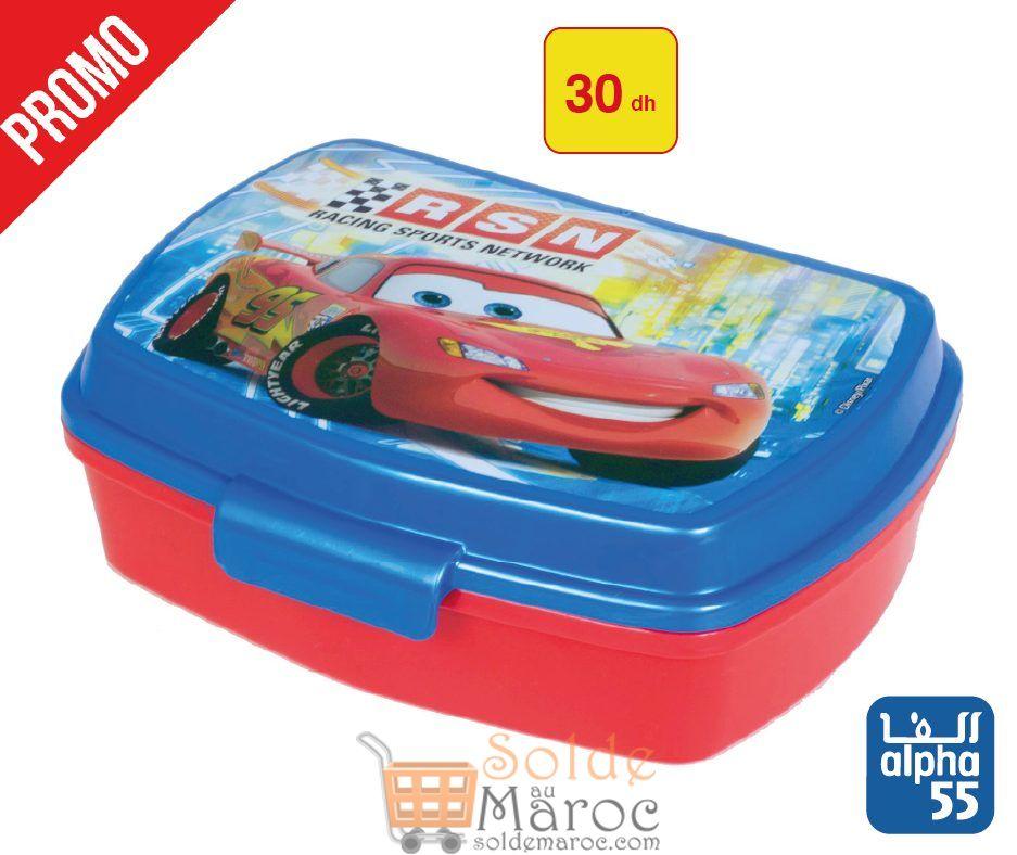 Promo Alpha 55 Boîtes et plats Flash Mc-Queen pour les Enfants