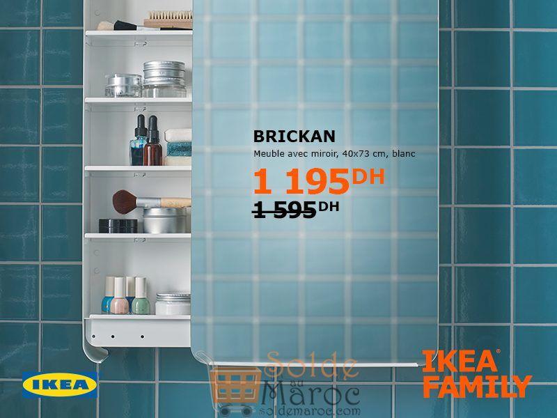 solde ikea family maroc meuble avec miroir brickan 1195dhs solde et promotion du maroc. Black Bedroom Furniture Sets. Home Design Ideas