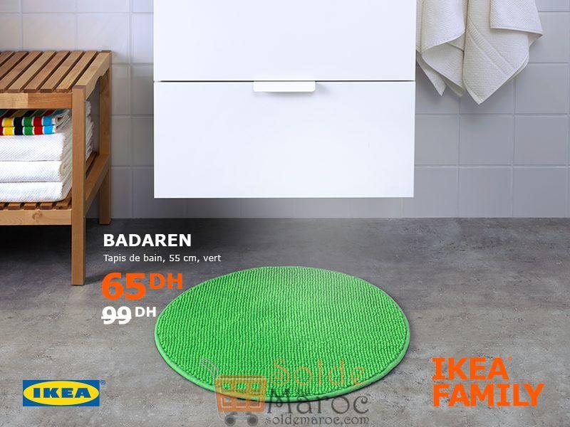 soldes ikea family maroc tapis de bain badaren 65dhs les soldes et promotions du maroc. Black Bedroom Furniture Sets. Home Design Ideas