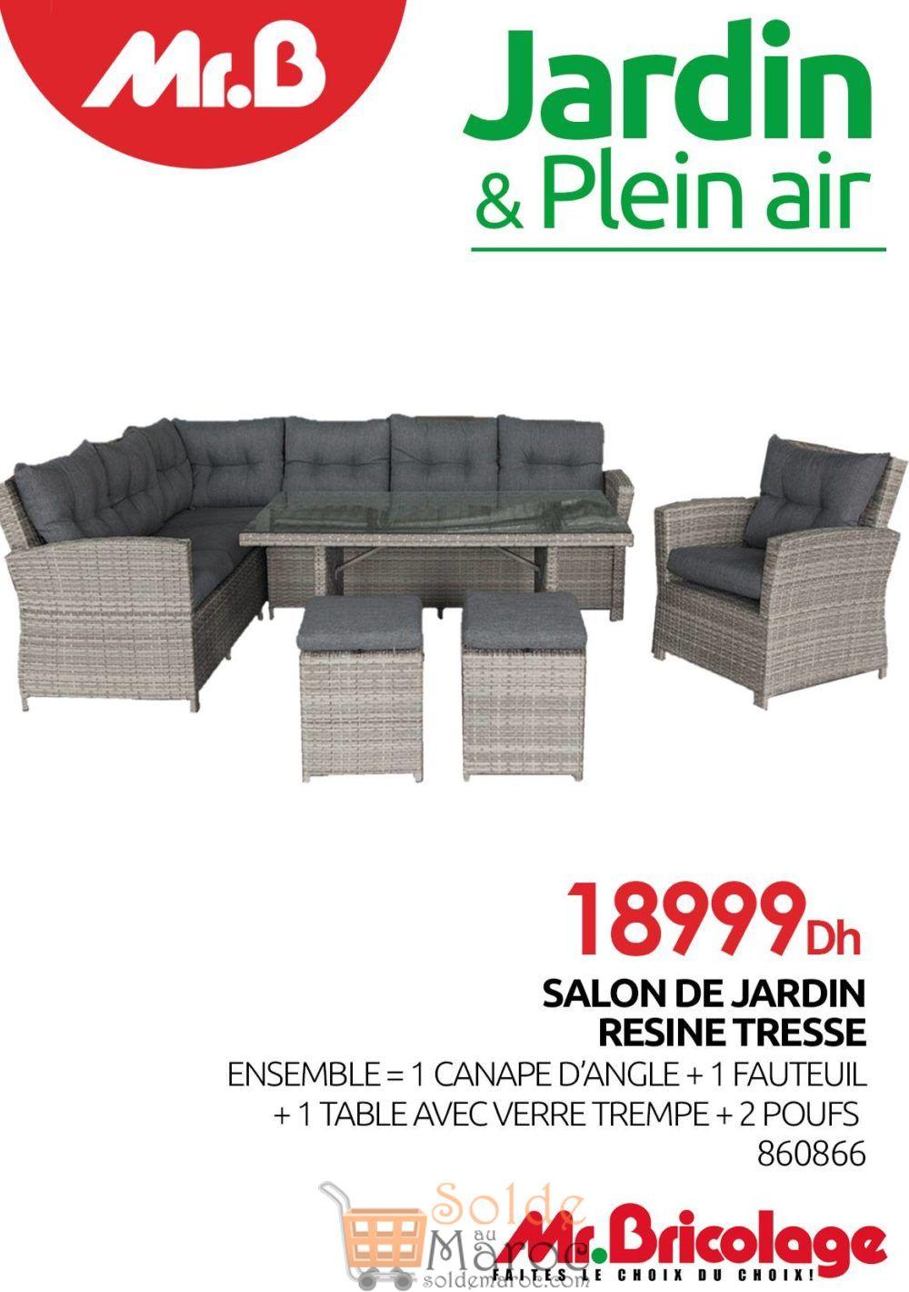 Flyer Mr Bricolage Maroc Jardin & Plein air 2018