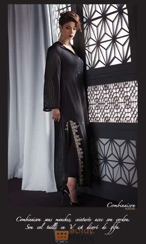Lookbook Diamantine Collection Elegant Black By Leila Hadioui