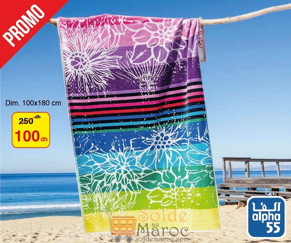 Catalogue Alpha55 Festival Serviettes de plage