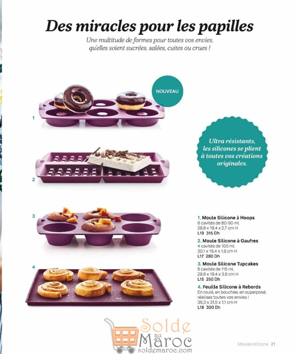 Catalogue Tupperware Maroc 2018