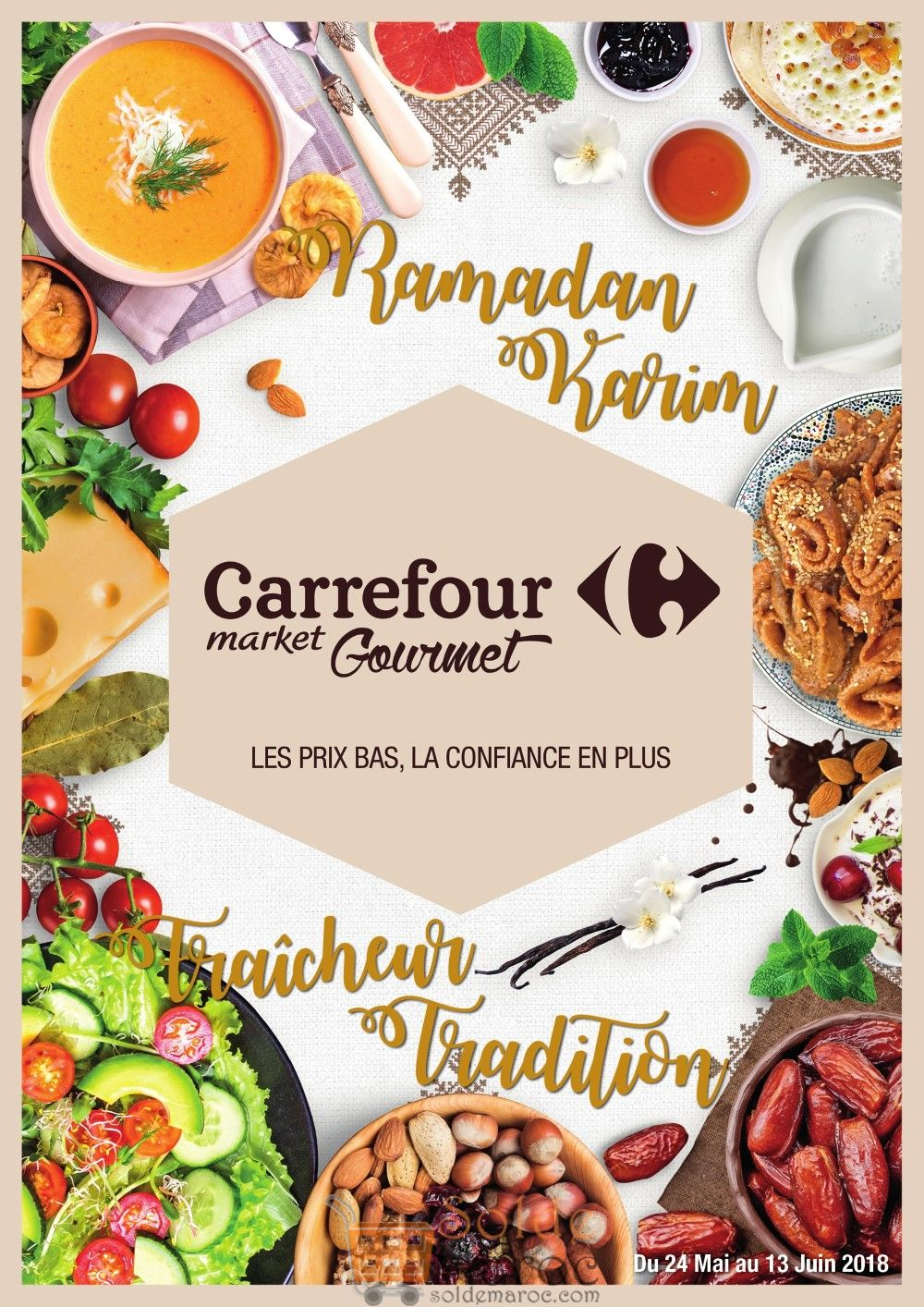 Catalogue Carrefour Gourmet Maroc du 24 Mai au 13 Juin 2018