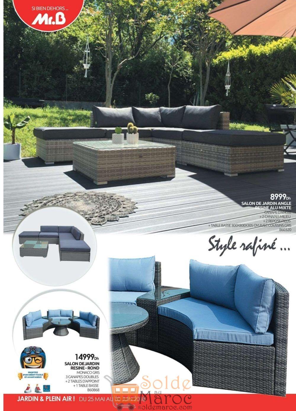 Catalogue Mr Bricolage Maroc Jardin & Plein air du 25 Mai au 30 Juin ...