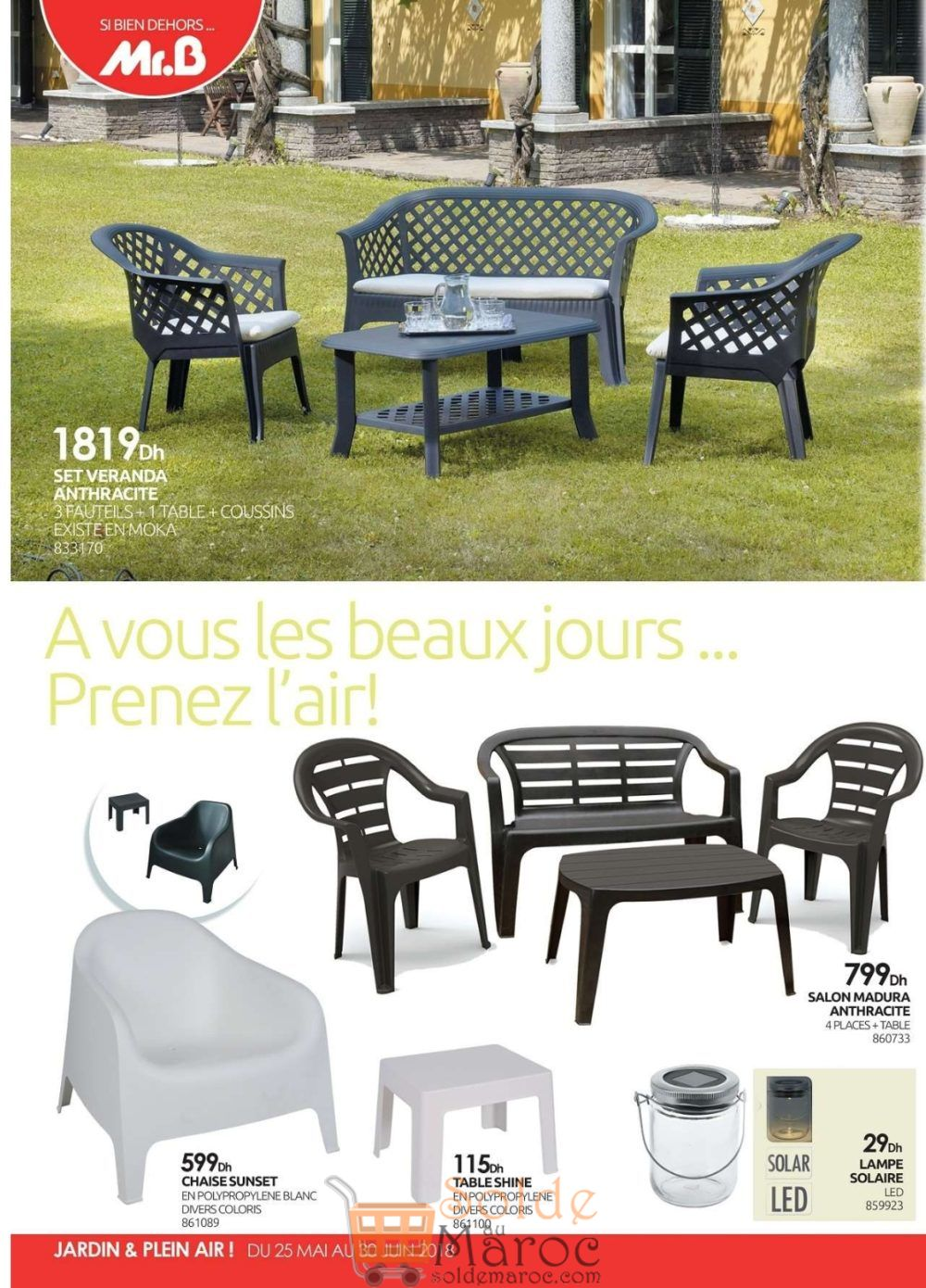 Beautiful Chaise De Jardin Monsieur Bricolage Images - House ...