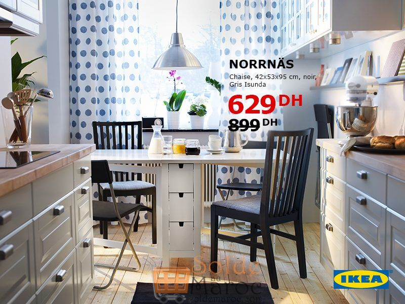 soldes ikea maroc chaise norrn s gris isunda 629dhs. Black Bedroom Furniture Sets. Home Design Ideas