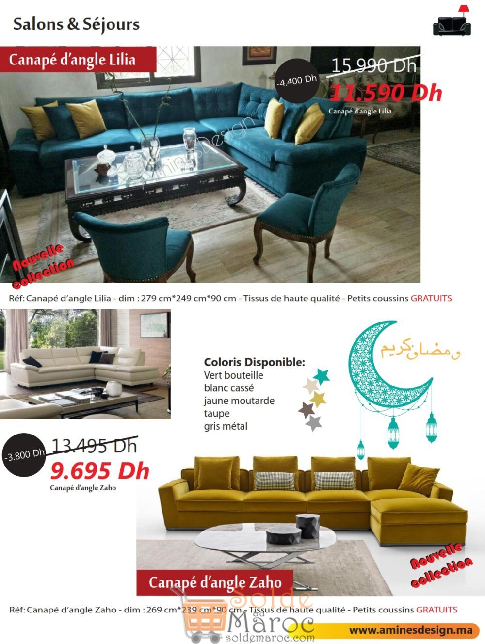 Catalogue Amnes Design RAMADAN 2018