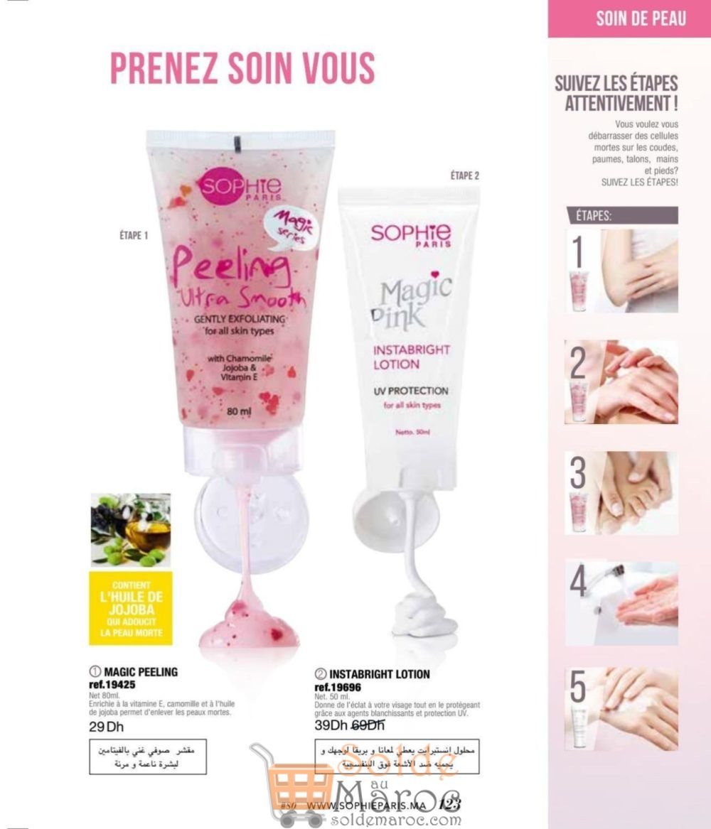 Catalogue Sophie Paris Maroc Juin 2018