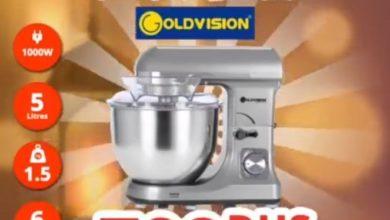 Offre Spéciale Abroun Electro Pétrin Goldvision 799Dhs