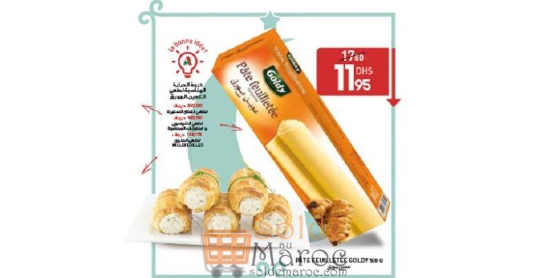 Promo Acima Pâte Feuilletée GOLDY 500g 11.95Dhs au lieu de 17.30Dhs