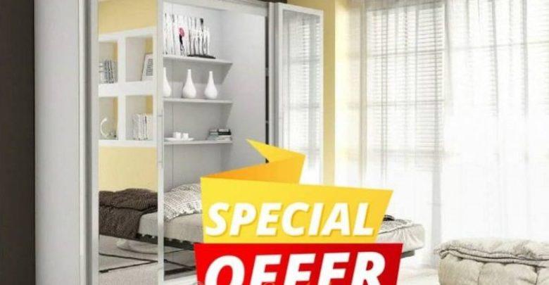 Promo Azura Home Armoire TANGER 2490Dhs au lieu de 6791Dhs