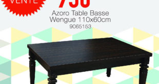 Top Vente Yatout Home Table Basse Azoro 950Dhs au lieu de 1290Dhs