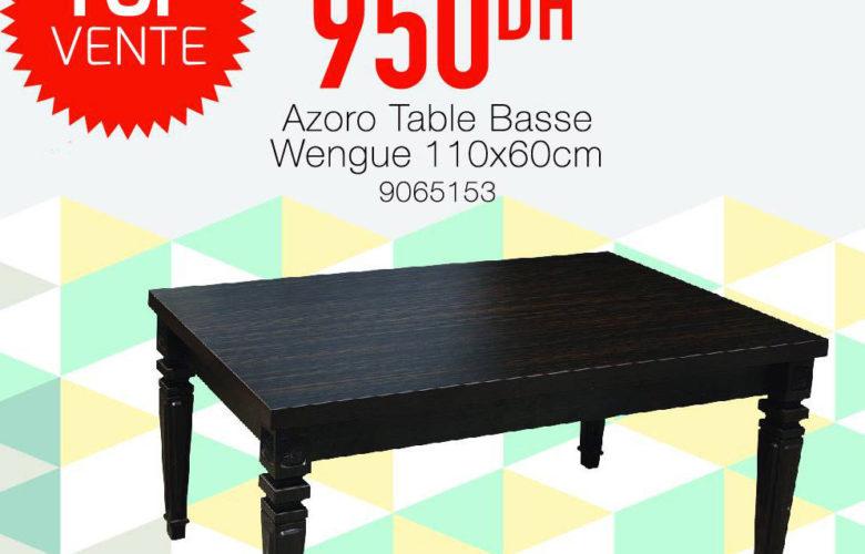 Top Vente Yatout Home Table Basse Azoro 950Dhs au lieu de 1290Dhs