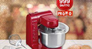 Promo Bricoland Robot de cuisine Multifonctions 500W Bosch 999Dhs au lieu de 1299Dhs