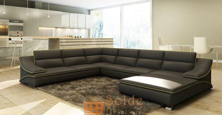 Promo Azura Home Canapé d'angle ROVETO 15490Dhs au lieu de 17238Dhs