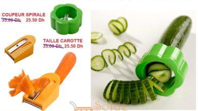Promo Casa Maroc Outillage de coupure pour Salade