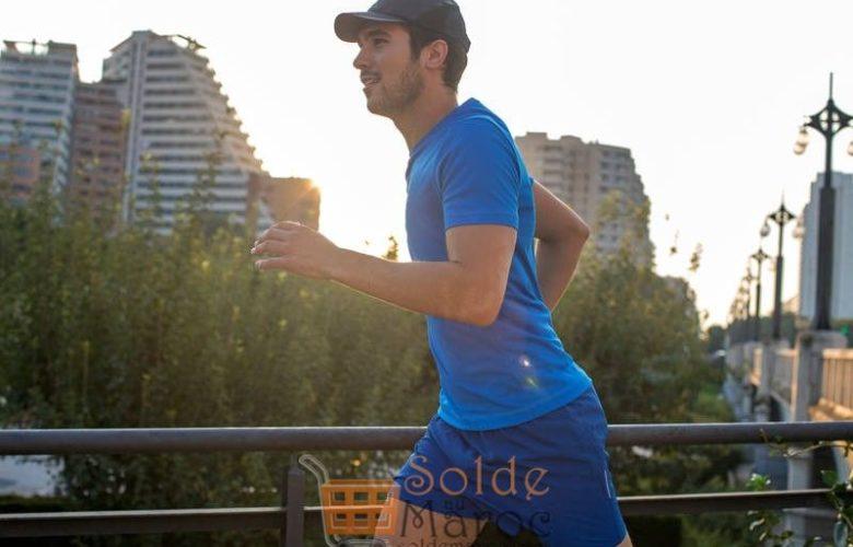 Promo Decathlon Maroc CASQUETTE RUNNING NOIRE 49Dhs au lieu de 59Dhs
