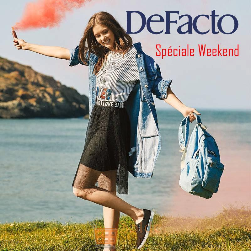 Spéciale Weekend chez Defacto Maroc une robe ou jupe la deuxième à -50%