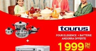 Promo Electroplanet Four TAURUS 60L + Batterie ANDORRA 1999Dhs