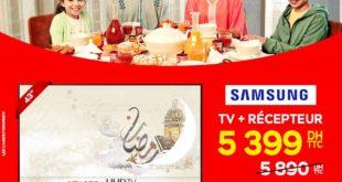 """Promo Electroplanet SMART TV SAMSUNG 43"""" + Récepteur 5399Dhs au lieu de 5890Dhs"""