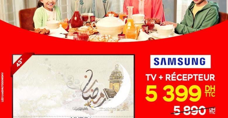 "Photo of Promo Electroplanet SMART TV SAMSUNG 43"" + Récepteur 5399Dhs"
