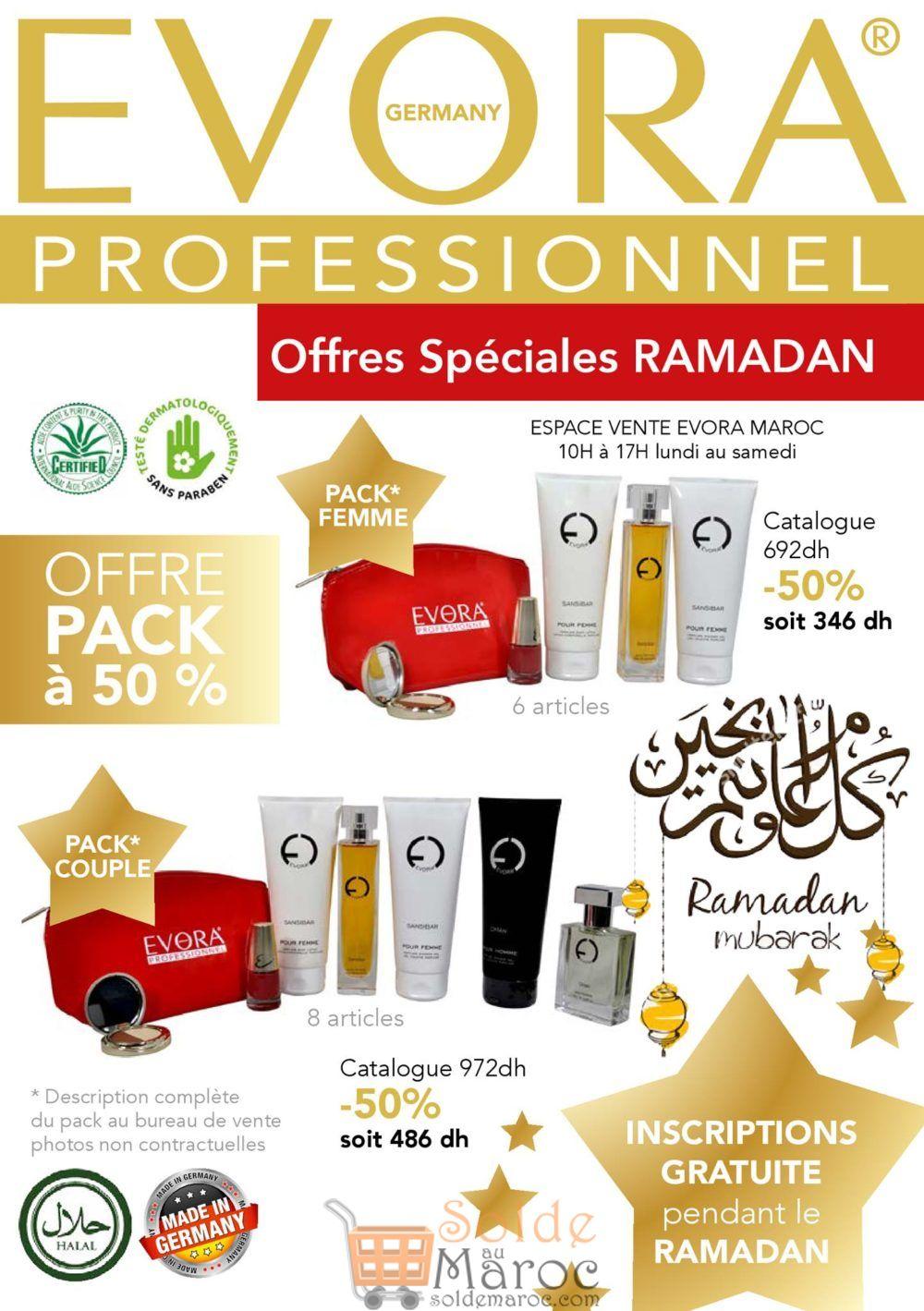 Offre Spéciale Ramadan Evora Maroc