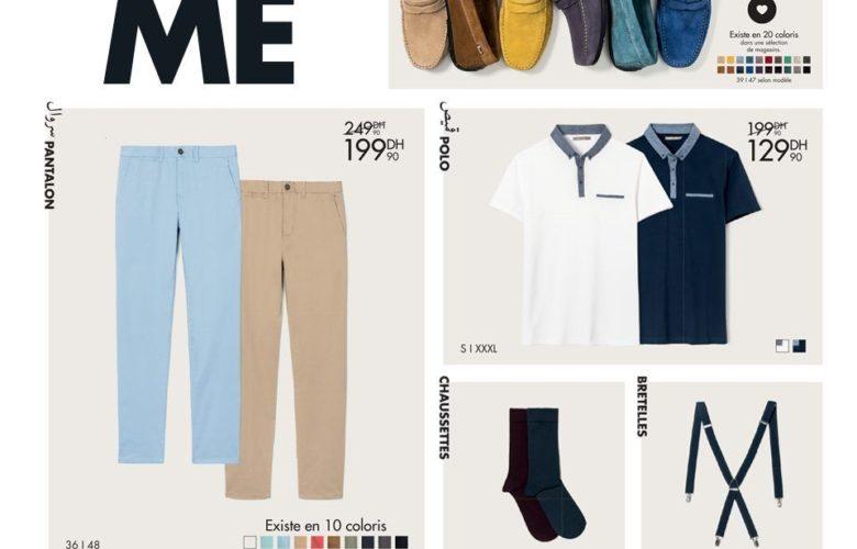 Promo Gémo Maroc Collection Printemps Homme