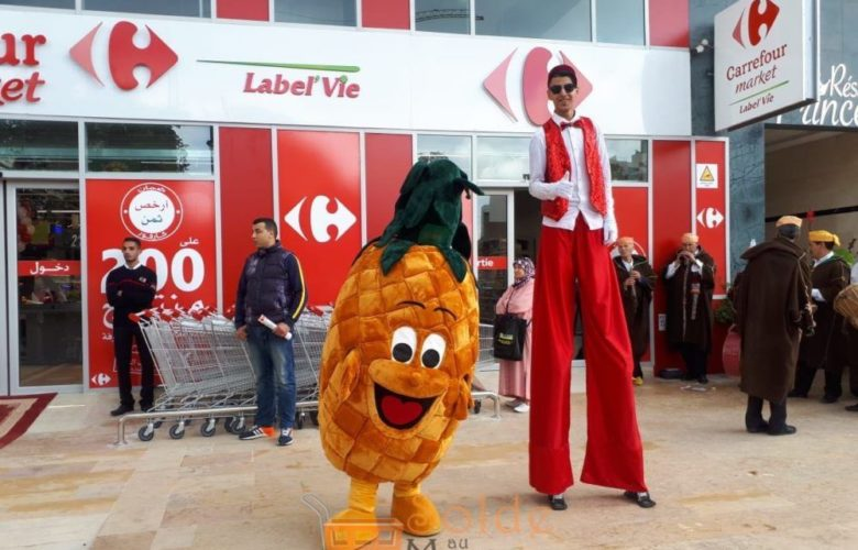 Ouverture Carrefour Market Tanger Iberia