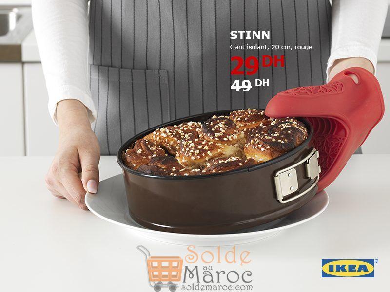 Solde Ikea Maroc Gant isolation Chaleur STINN 29Dhs au lieu de 49Dhs